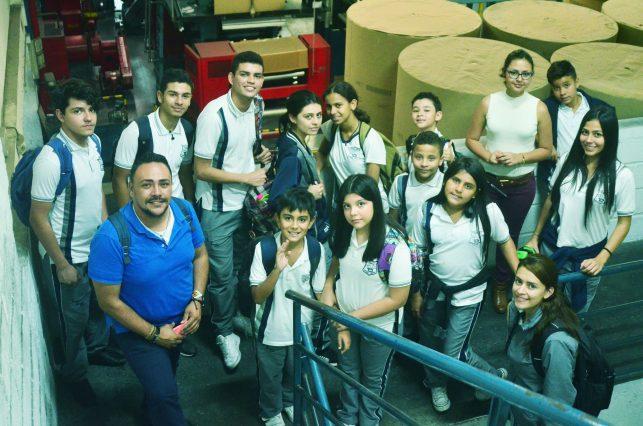 Acompañamiento a los estudiantes del Periódico Estudiantil ITD